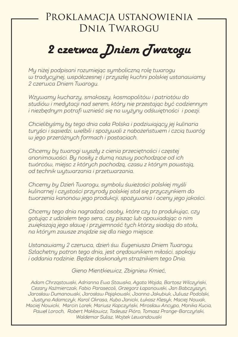 proklamacja Dzień Twarogu.jpg